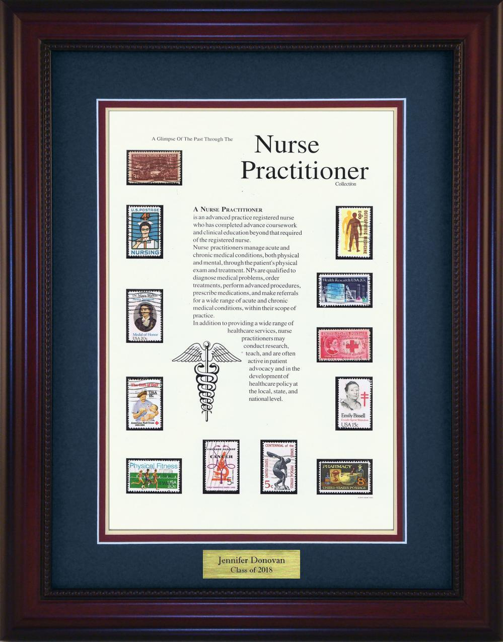 Nurse Practitioner - Personalized Unique Framed Gift
