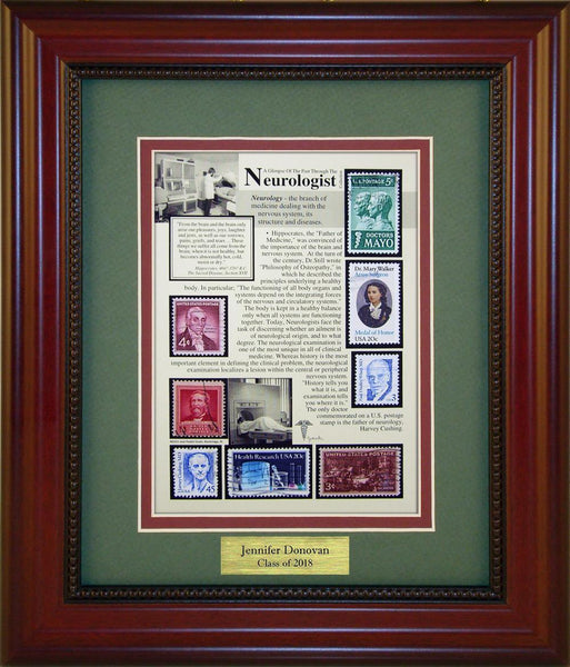 Neurologist - Personalized Unique Framed Gift