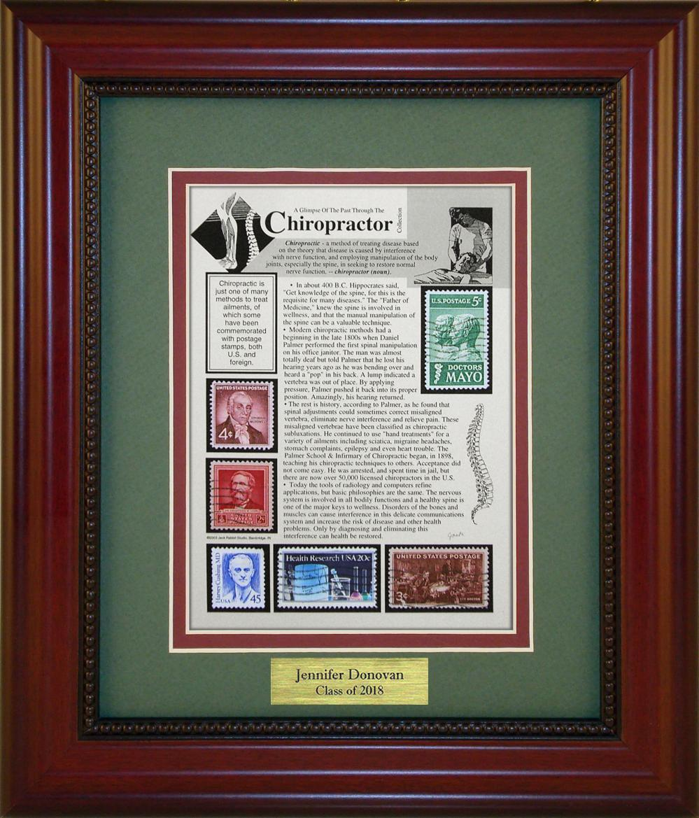 Chiropractor - Personalized Unique Framed Gift