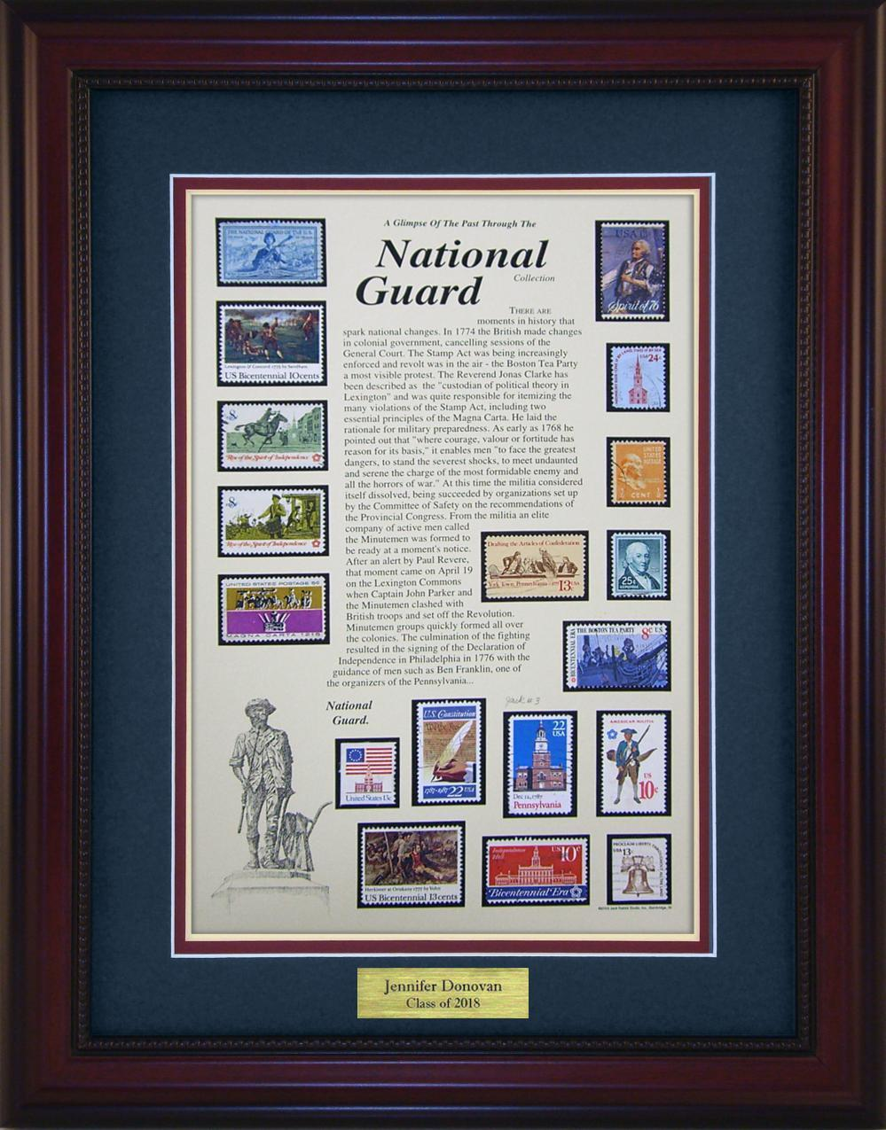 National Guard - Personalized Unique Framed Gift