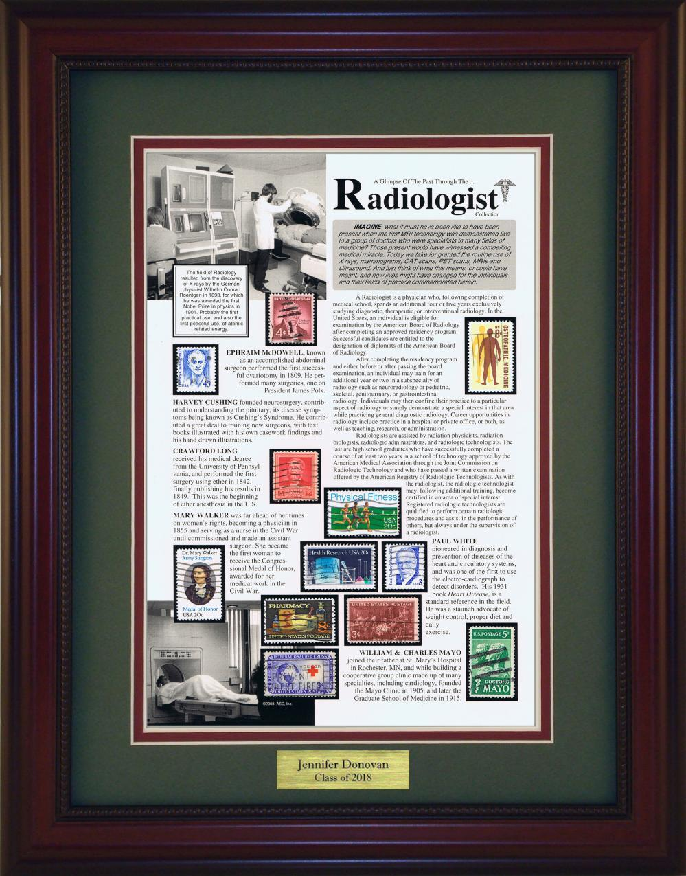 Radiologist - Personalized Unique Framed Gift