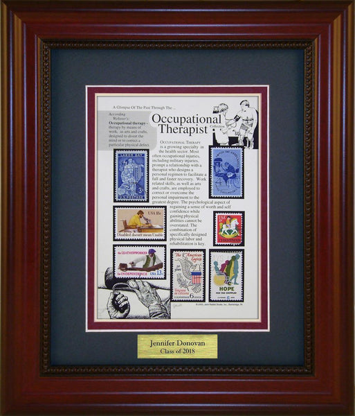 Occupational Therapist - Personalized Unique Framed Gift