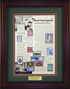 Neurosurgeon - Personalized Unique Framed Gift