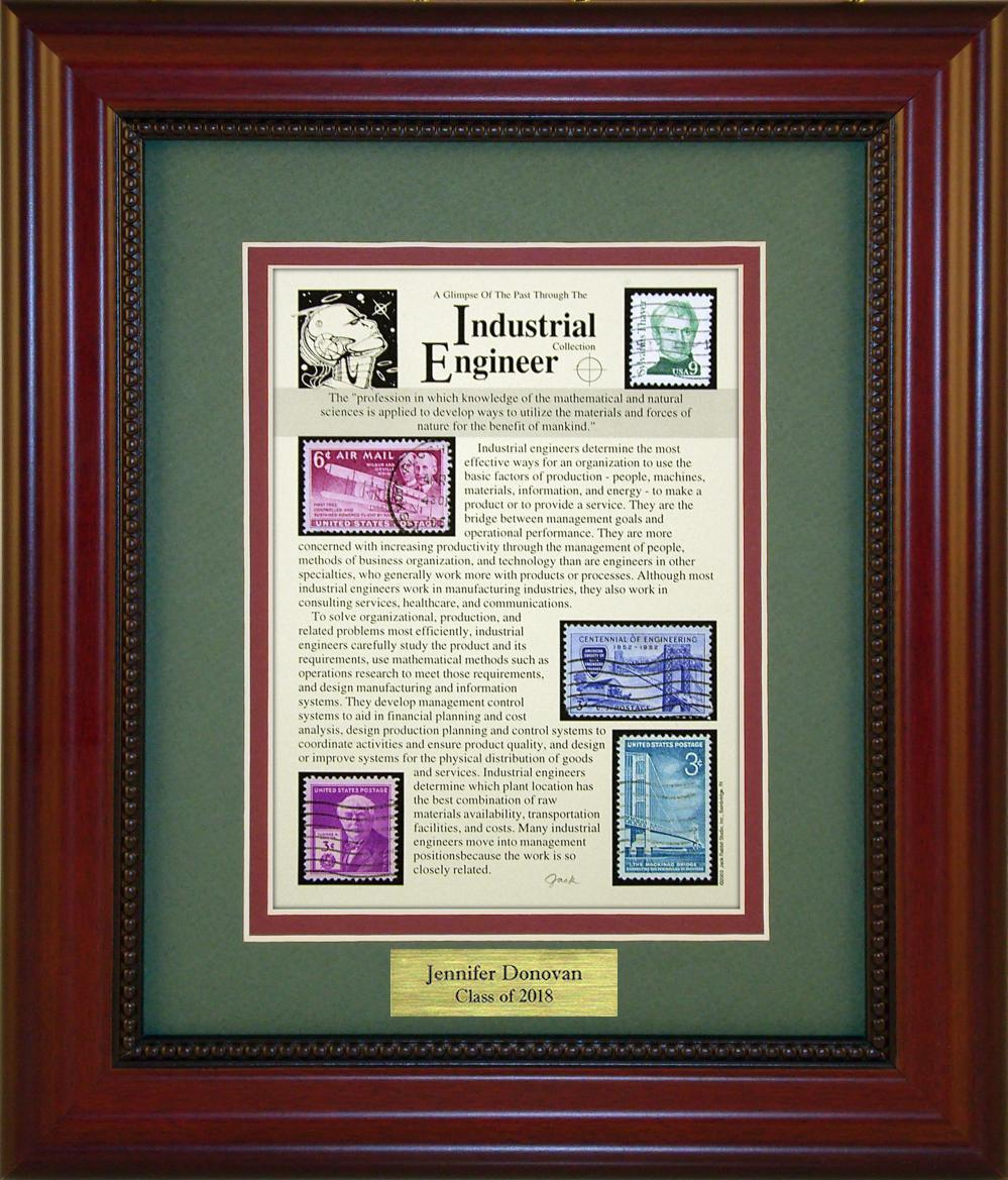 Industrial Engineer - Personalized Unique Framed Gift