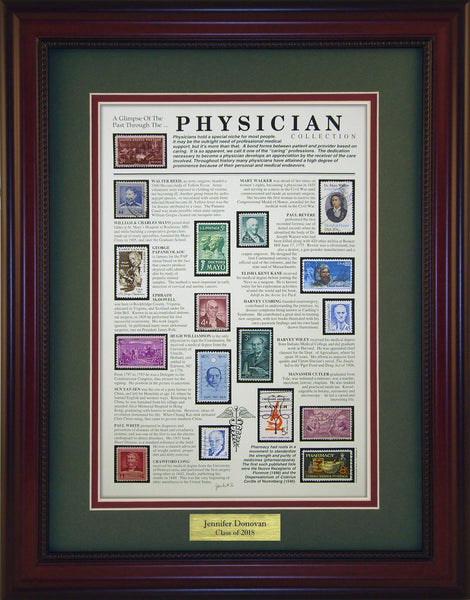 Physician - Personalized Unique Framed Gift