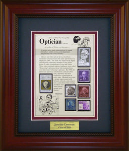 Optician - Personalized Unique Framed Gift