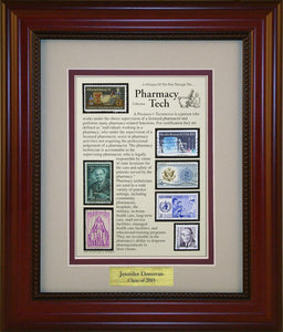 Pharmacy Technician - Personalized Unique Framed Gift