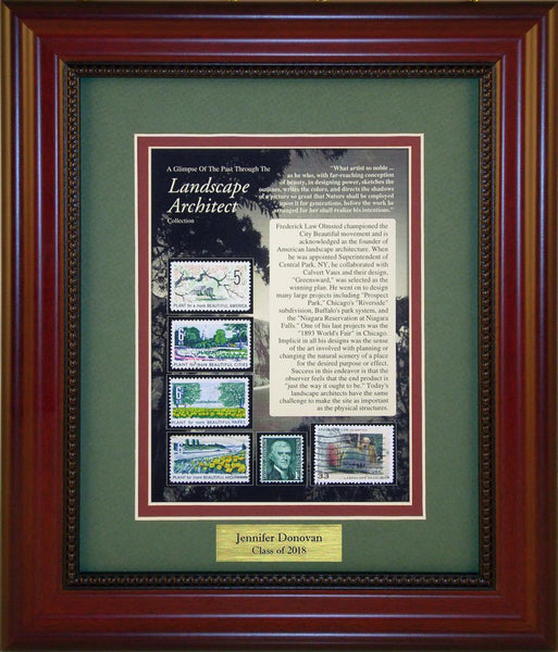 Landscape Architect - Personalized Unique Framed Gift