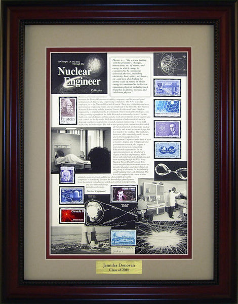 Nuclear Engineer - Personalized Unique Framed Gift