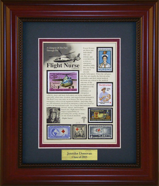 Flight Nurse - Personalized Unique Framed Gift