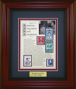 AANA Nurse Anesthetist - Personalized Unique Framed Gift
