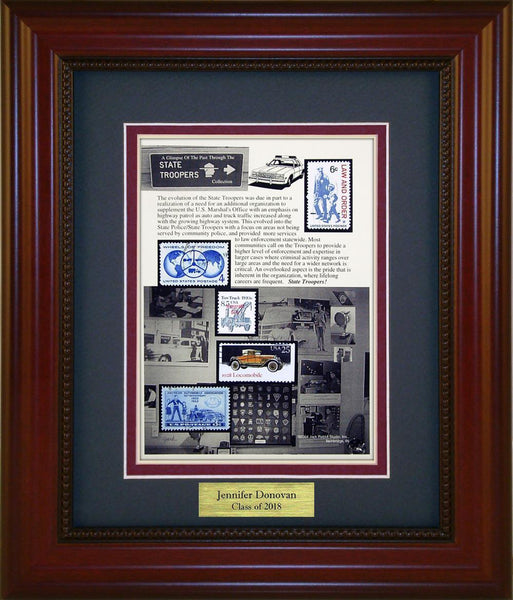 State Trooper - Personalized Unique Framed Gift
