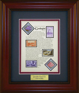 Geologist - Personalized Unique Framed Gift