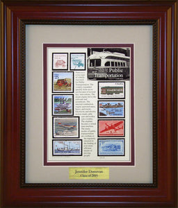 Public Transportation - Personalized Unique Framed Gift