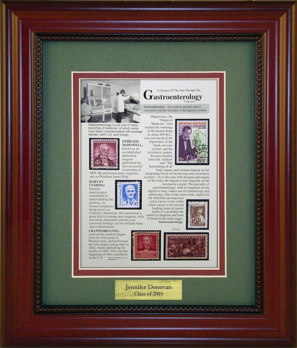 Gastroenterology - Personalized Unique Framed Gift