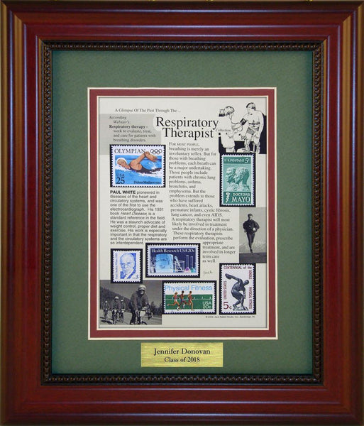Respiratory Therapist - Personalized Unique Framed Gift