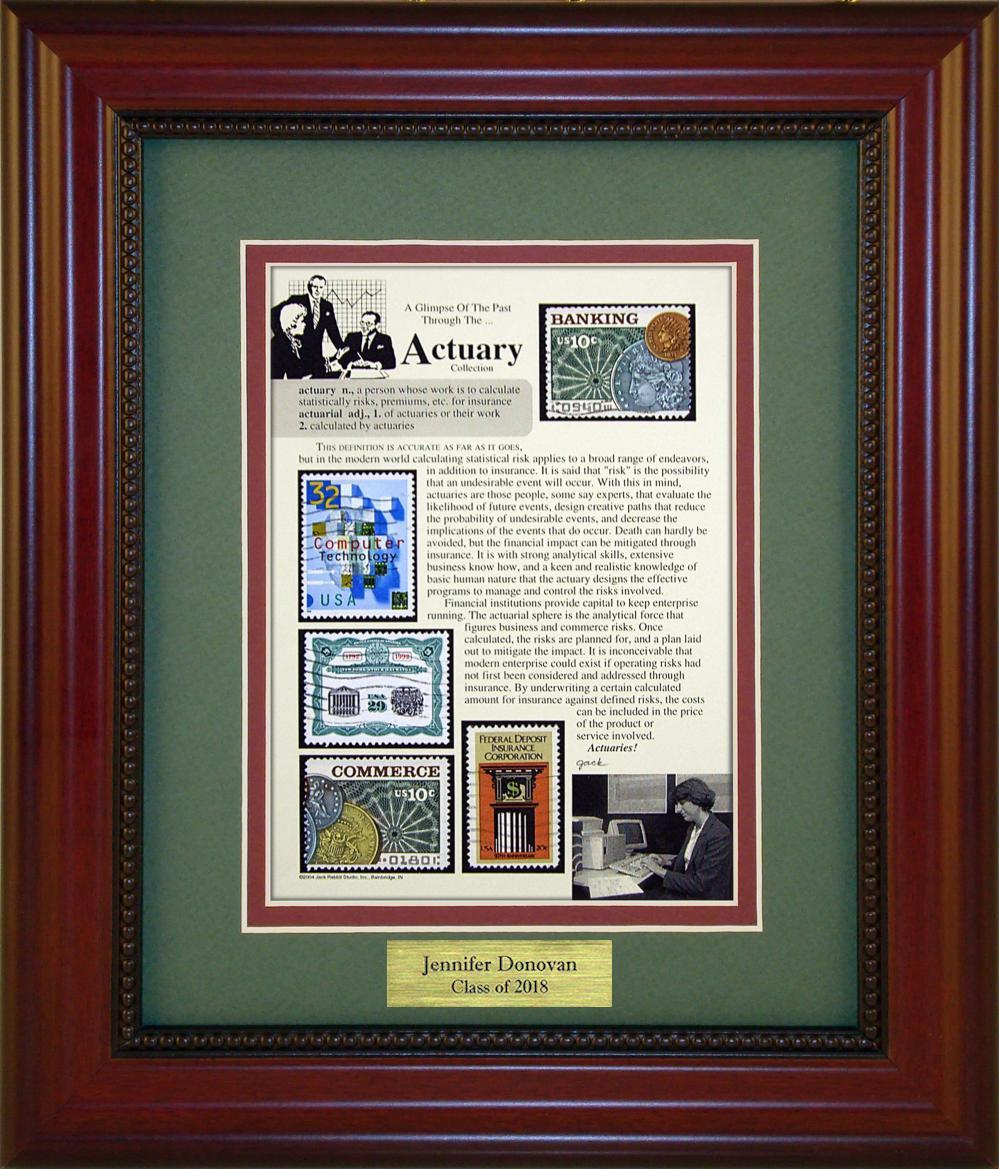 Actuary - Personalized Unique Framed Gift