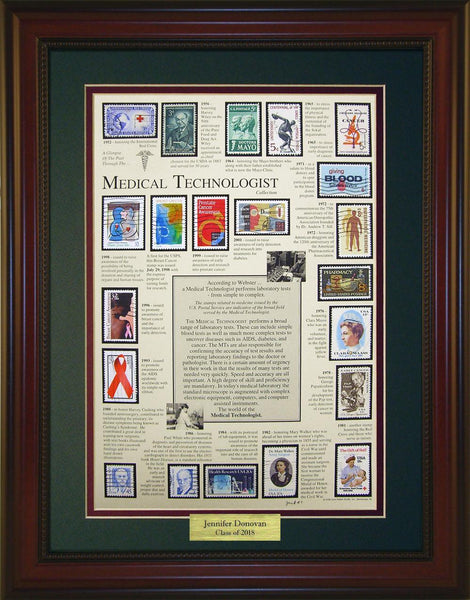 Medical Technician (Lab) - Personalized Unique Framed Gift