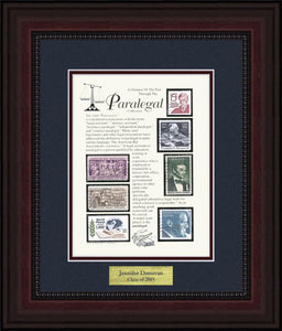 Paralegal - Personalized Unique Framed Gift