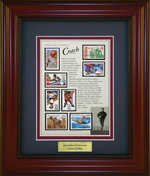 Coach - Personalized Unique Framed Gift