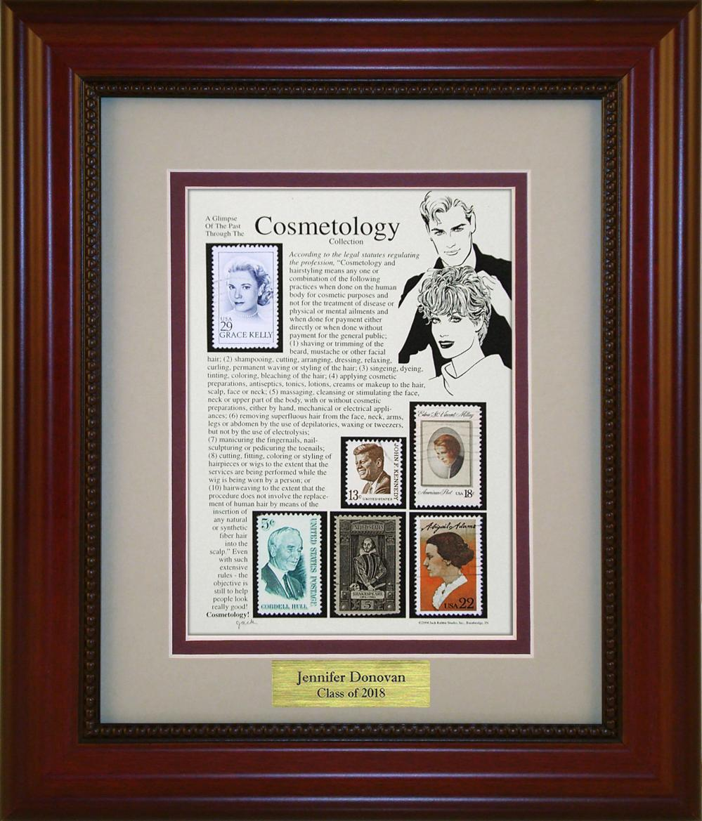 Cosmetology - Personalized Unique Framed Gift