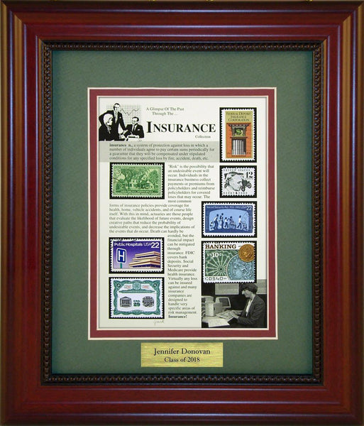 Insurance - Personalized Unique Framed Gift