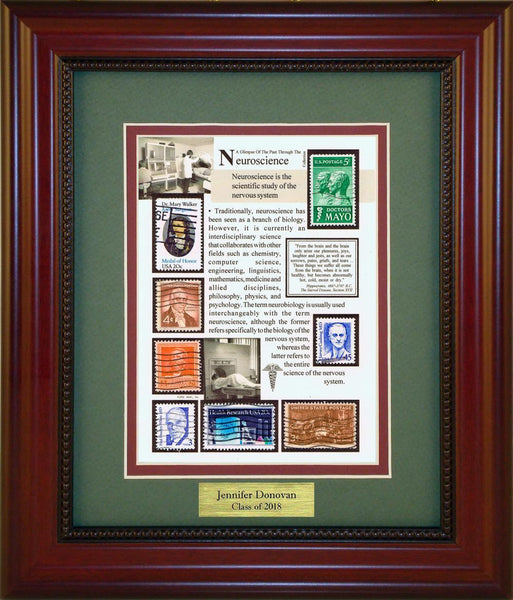 Neuroscience - Personalized Unique Framed Gift