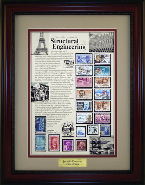 Structural Engineer - Personalized Unique Framed Gift