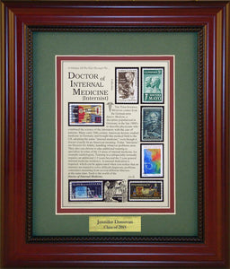 Doctor of Internal Medicine - Personalized Unique Framed Gift