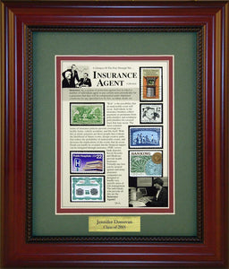Insurance Agent - Personalized Unique Framed Gift