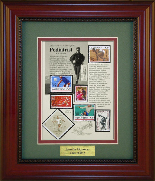 Podiatrist - Personalized Unique Framed Gift