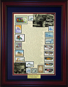 Auto Dealer - Personalized Unique Framed Gift