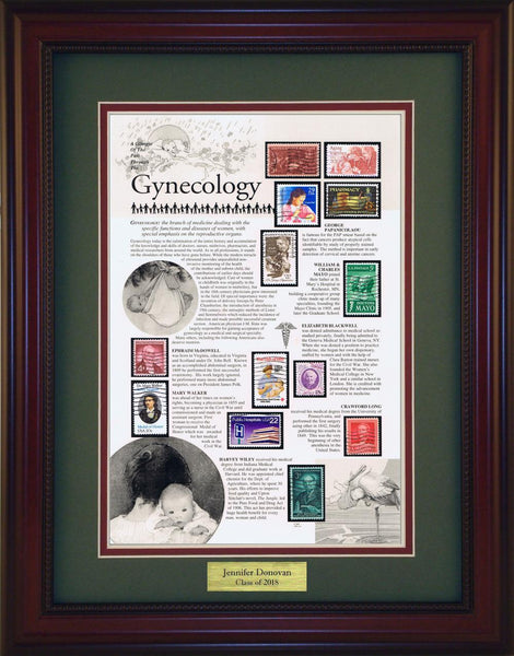 Gynecology - Personalized Unique Framed Gift