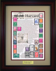 Harvard - Personalized Unique Framed Gift