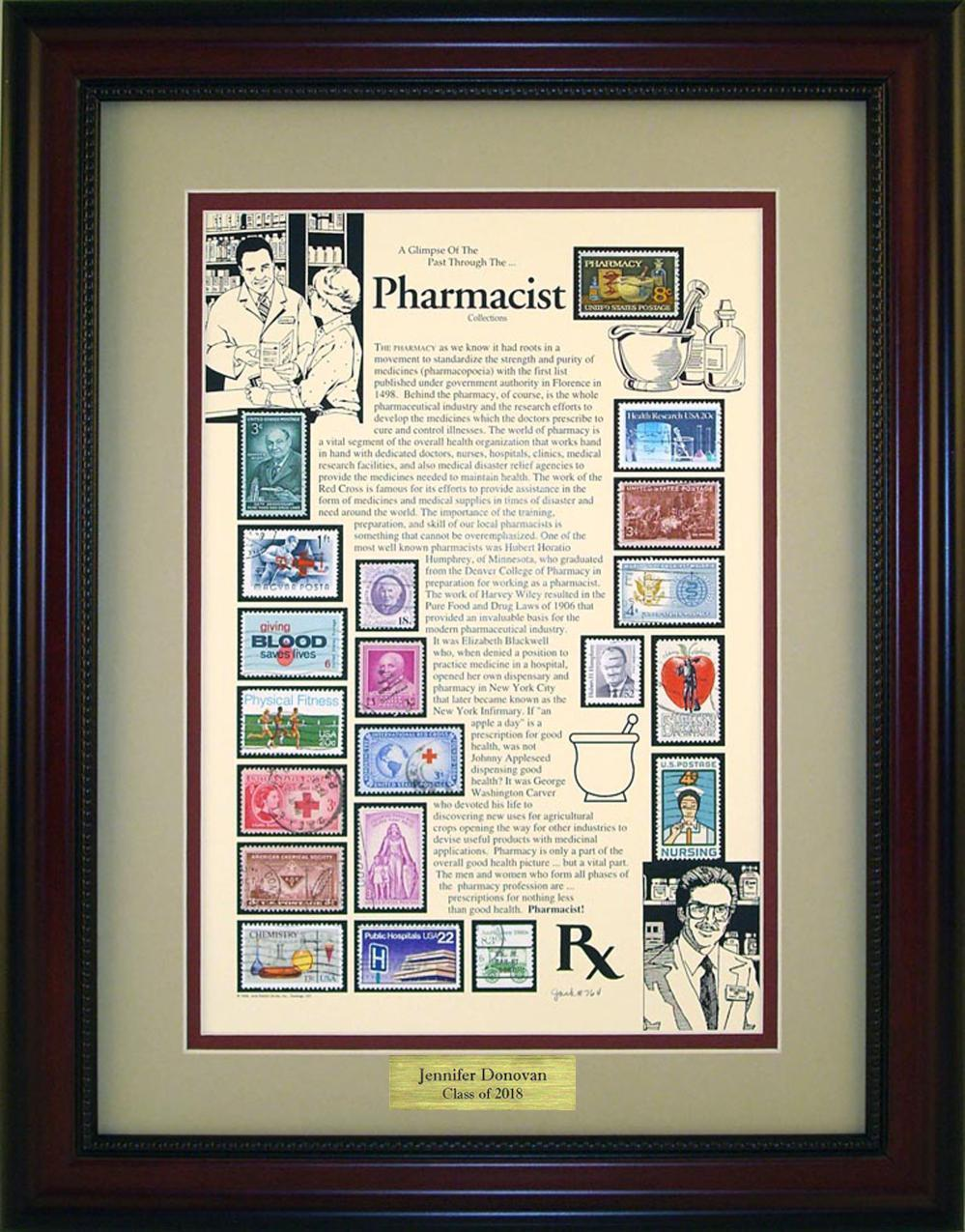 Pharmacist - Personalized Unique Framed Gift