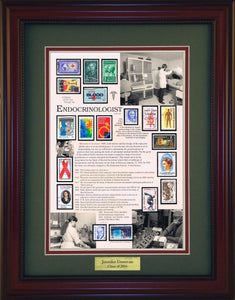 Endocrinologist - Personalized Unique Framed Gift