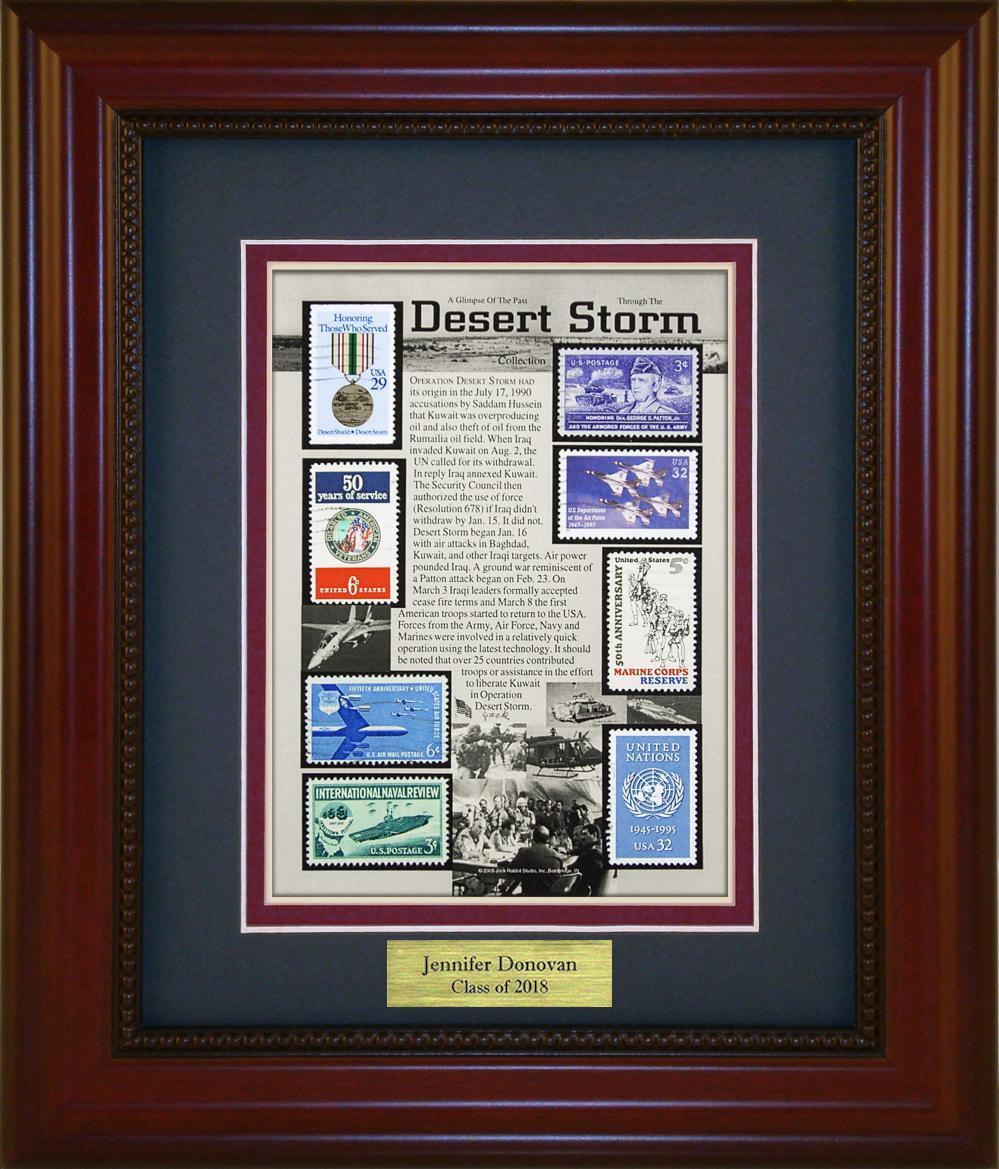 Desert Storm - Personalized Unique Framed Gift