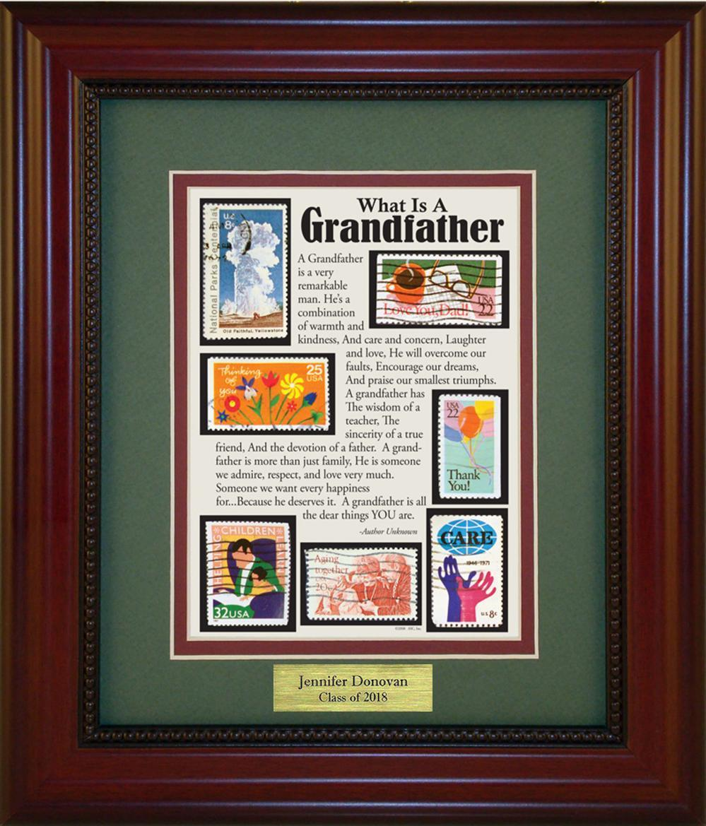Grandfather - Personalized Unique Framed Gift