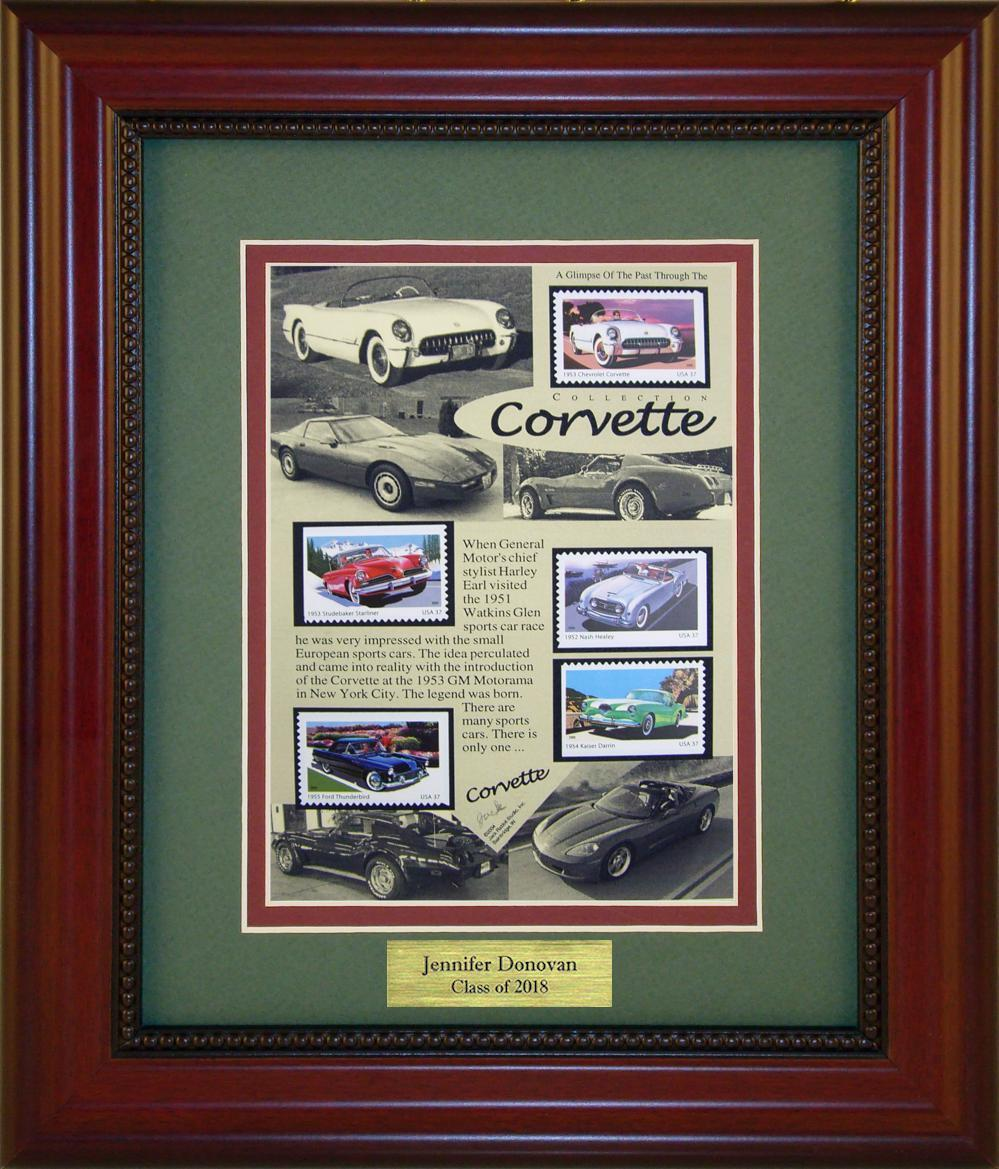 Corvette - Personalized Unique Framed Gift