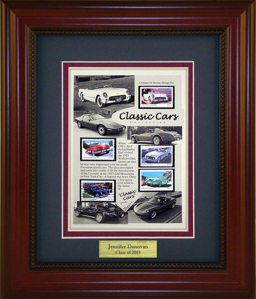 Classic Cars - Personalized Unique Framed Gift
