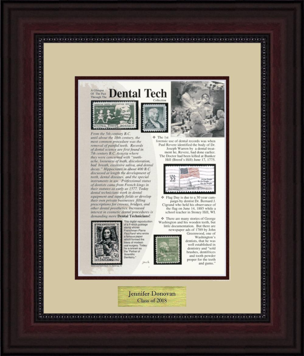 Dental Technician - Personalized Unique Framed Gift
