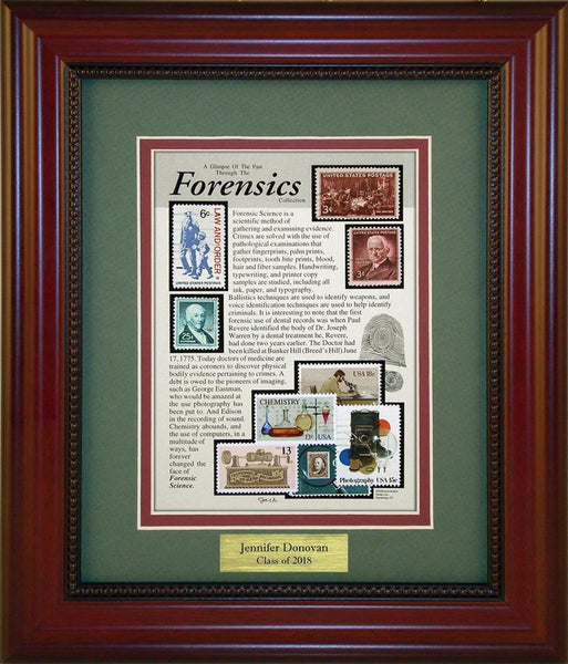 Forensics - Personalized Unique Framed Gift