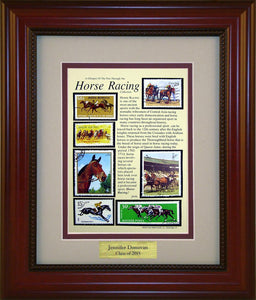 Horse Racing - Personalized Unique Framed Gift