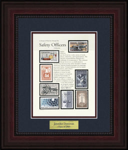 Safety Officer - Personalized Unique Framed Gift