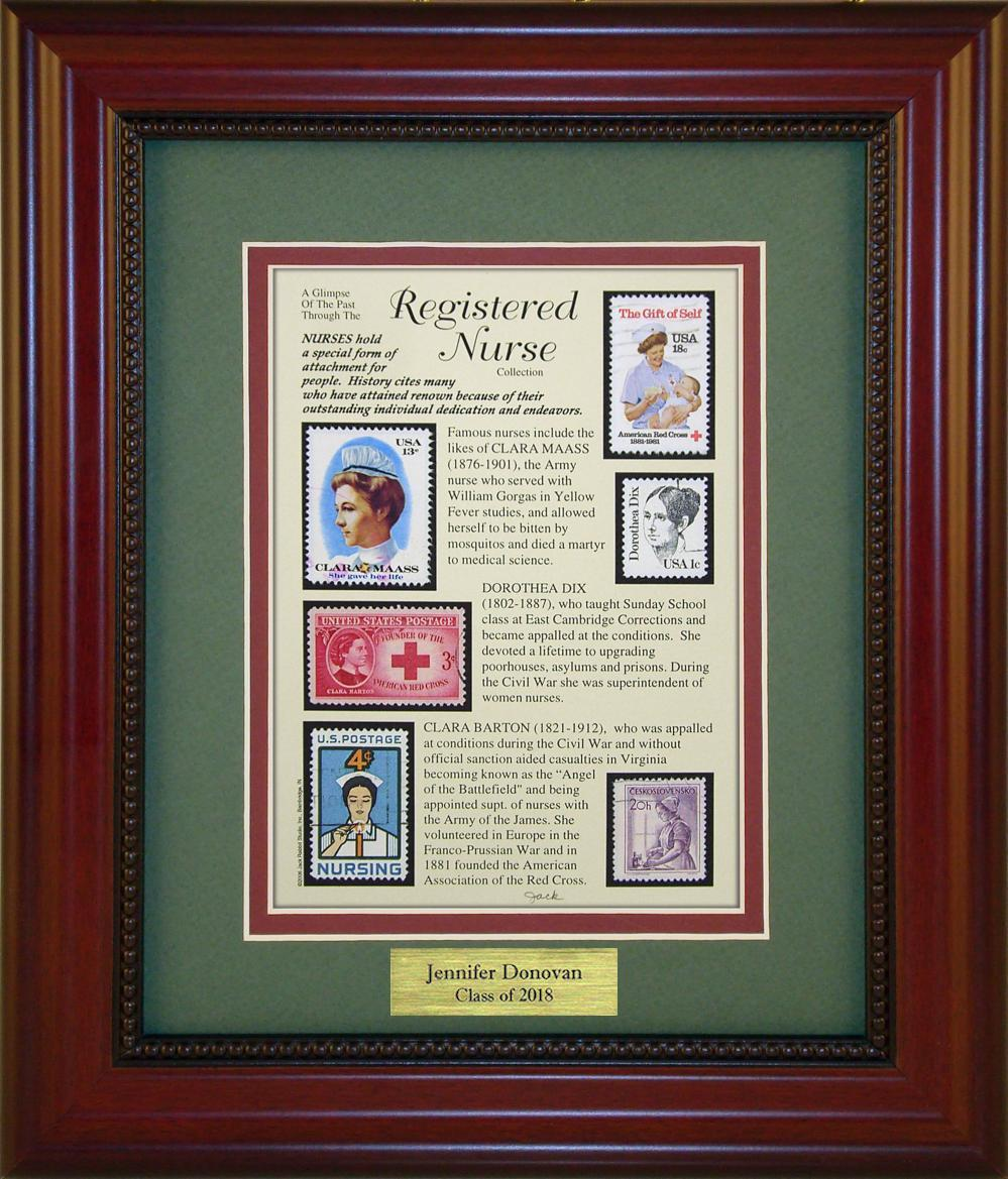 Registered Nurse - Personalized Unique Framed Gift