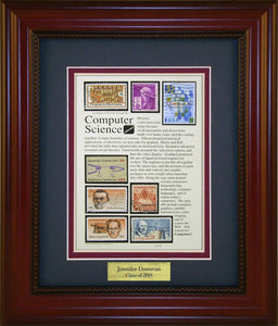 Computer Science - Personalized Unique Framed Gift