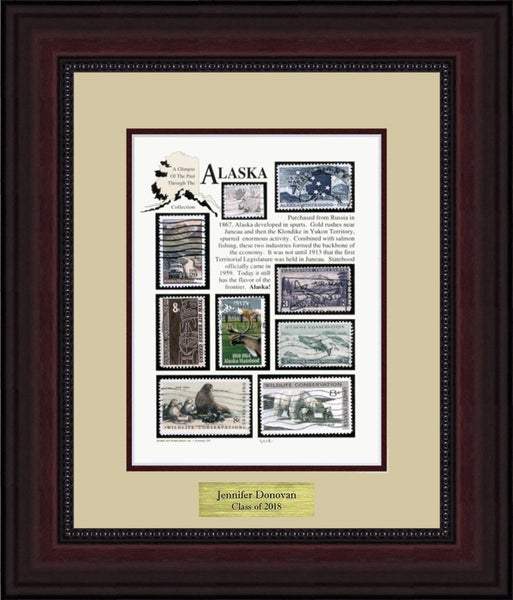 ALASKA - Personalized Unique Framed Gift