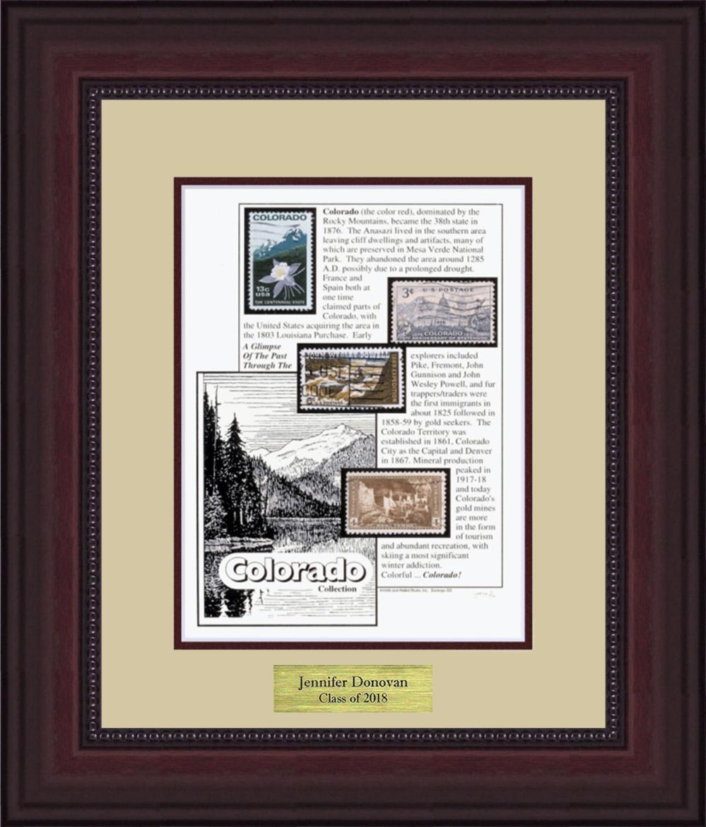 COLORADO - Personalized Unique Framed Gift