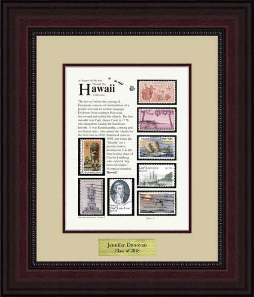 HAWAII - Personalized Unique Framed Gift