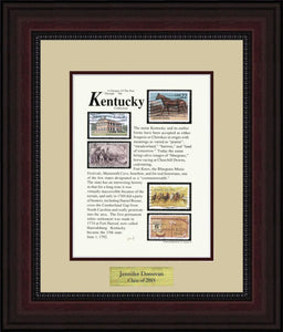 KENTUCKY - Personalized Unique Framed Gift